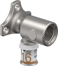 "Uponor Smart Aqua dækvinkel S-Press 16-Rp1/2""FT"