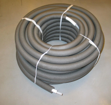Uponor Combi Pipe RIR isoleret i rulle white/grey 18x2,5 28/