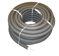 Uponor Combi Pipe RIR isoleret i rulle white/grey 22x3,0 34/