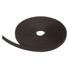Velcro Bånd 10 mm x 5 meter sort