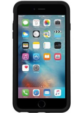 OtterBox Symmetry cover til iPhone 6/6S, sort