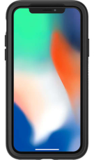OtterBox Symmetry cover til iPhone X, sort