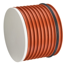 Uponor Double/Rib2 560 mm PP-prop med gummiring