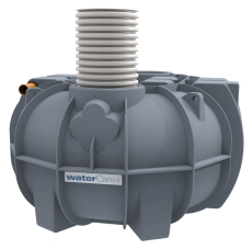 Watercare 4500 l 3-kammertank til gravitation, 10PE