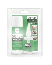 TEC7 superlimsystem, SUPER lim & aktivator, 50 + 200 ml