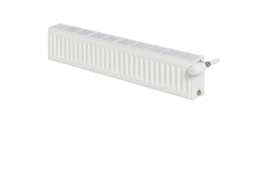 "Stelrad Compact All In Plinth Radiator 4x1/2"" T44 H200 x L18"