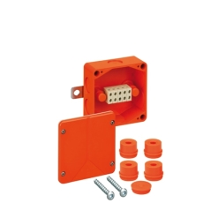 Brand Forgreningsdåse WKE 4, Duo 3 x 10 mm², orange