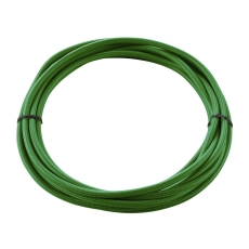 TEXTILE CABLE, 3-pole, 5 m, green