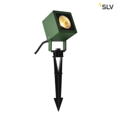 LED SPIKE, grøn, IP65, 3000K, 45°