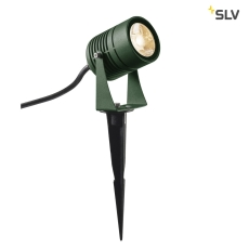 LED SPIKE, grøn, IP55, 3000K, 40°