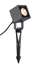 NAUTILUZ SQUARE LED spot light , square, antracit, 6W, 3000K