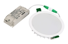 Downlight Harsted2 LED 8W 830/840, 770 lumen, Dali, Ø140/125