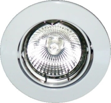 Downlight ring High Line 8500 Ø85 MR16 hvid ISO