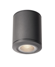 Loftlampe Pole Parc, LED 28W 3000K, 2900 lumen, antracit, IP