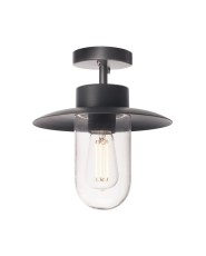 Loftlampe Molat, E27, antracit, IP44