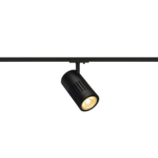 Spot STRUCTEC 1F, LED 24W 3000K, 2650 lumen, 60°, sort
