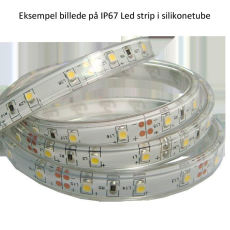 LED strip 24V DC 4,8W 3000K, RA90, 380 lumen, 5M, IP67