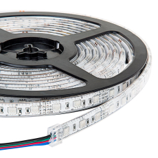 LED strip 24V DC 14,4W RGB, 5M, IP67