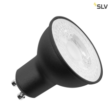 LED lyskilde, QPAR51, GU10, 7,2W, 36°, 3000K sort