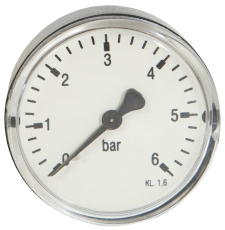 "1/4"" x 63 mm manometer bagud 6 bar"