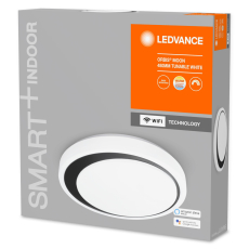Ledvance Smart+ Orbis Moon 30W/2700-6500 480 mm, sort WiFi
