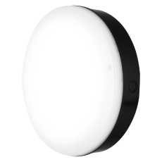 Væg-/Loftarmatur Surface Outdoor Sensor 10W 4000K 800 lm sor