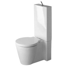 Starck 1 toilet back-to-wall