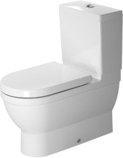 Starck 3 toilet back-to-wall 70,5 cm med wondergliss