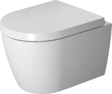 Duravit Me by Starck compact rimless vægtoilet hvid mat, WG