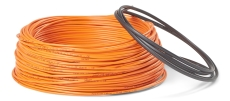 Ø3 mm varmekabel 12 W/m med tape 16,5 m