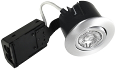Downlight Quick Install GU10 LED 5W 827 rund børstet alu