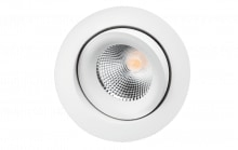 Downlight Junistar Lux 7W 3000K, 560 lumen, hvid