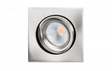 Downlight Junistar Lux Square 1X7W 2700K, 500 lm, børstet st