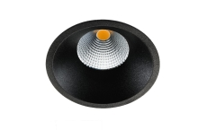 Downlight Soft Slim LED 9W 2700K, sort