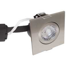 Downlight Low Profile Deluxe LED 6W 830 GU5,3, firk., børst.