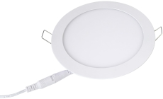 Downlight Lucette Slim LED 6W 3000K 541 lumen, Ø120, mat hvi