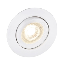 EASY Downlight LED 7W 500lm, hvid, 3-step