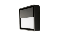Væg Frame Square Wall LED 6W 3000K, sort