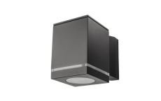Vægarmatur Echo Deco 1x4,5W LED 2700K, grafit (ned)