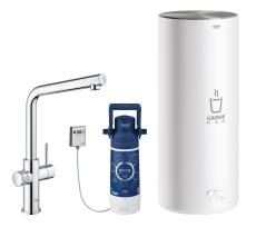 GROHE Red Duo Armatur og L-size kedel
