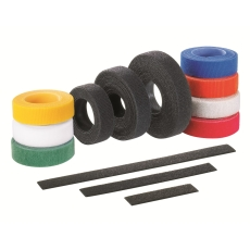 Velcro Binder 12,7 x 305 mm HLT3I-X0 Sort (10)