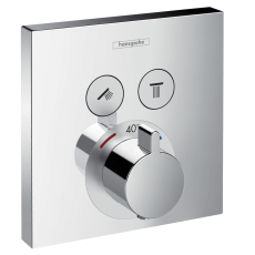 Hansgrohe ShowerSelect Term. med 2 afsp. krom