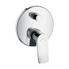 Hansgrohe Metris Wannenmi.UP F-Set chrom