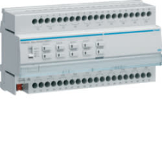KNX aktuator 20 udgange 16A c/10 pers easy