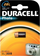 Duracell batteri, PHOTO 28L, 1 stk.
