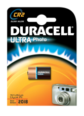 Duracell batteri, PHOTO ULTRA CR2, 1 stk.