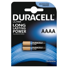 Duracell batteri, PHOTO ULTRA, AAAA, 2 stk.