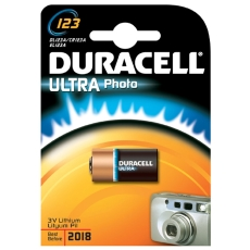 Duracell lithium batteri, PHOTO ULTRA 123, 1 stk.