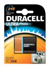 Duracell lithium batteri, PHOTO ULTRA, 245, 2CR5, 1 stk.