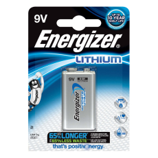 Energizer Ultimate Lithium batteri, 9 V, 1 stk.